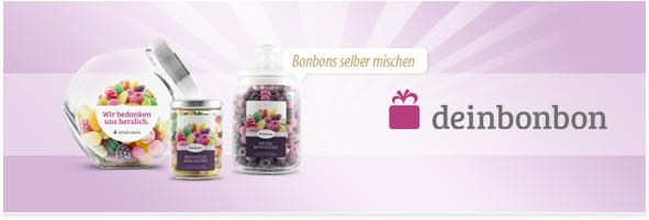 Bonbons personalisieren