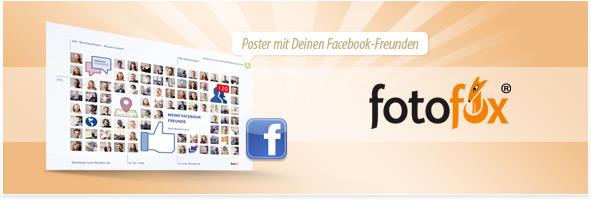 Facebook Freunde Poster