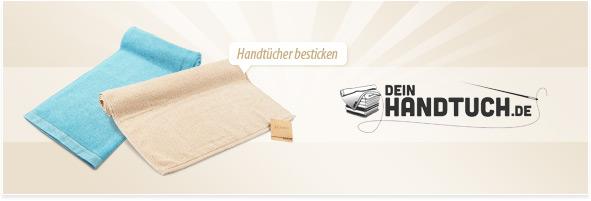 Handtücher besticken lassen