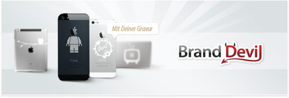 iPhone mit Gravur