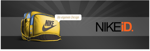 Nike marken taschen mit namen designen