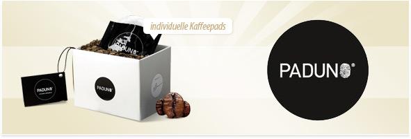 paduno kaffeepads selber mischen your presents. Black Bedroom Furniture Sets. Home Design Ideas