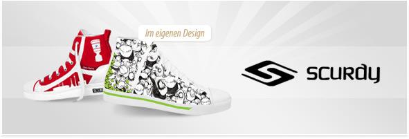 Scurdy Schuhe designen