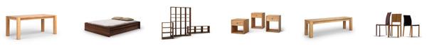 Die Möbelkategorien von Audena