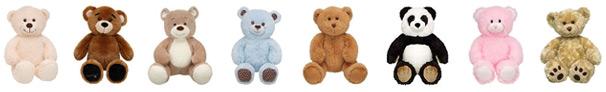 Persönliche Bären mit Herzschlag