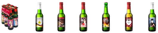 Biersorte auswählen und gestalten