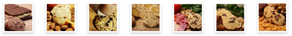 Die Kekse mit Ihren Wunsch-Zutaten