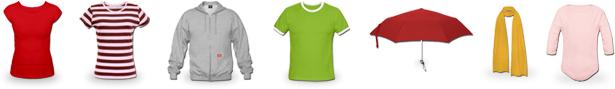 Ein kleiner Produktauszug aus dem Sortiment von JazzyShirt