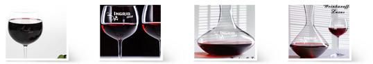 Das passende Weinglas mit Wein-Karaffe