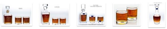 Whiskyflasche mit personalisierter Gravur