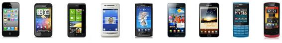 Wählen Sie das passende Handy aus