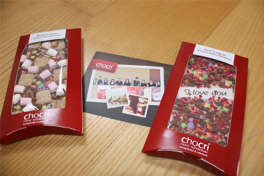 produkttest chocri schokolade selbst gestalten your presents. Black Bedroom Furniture Sets. Home Design Ideas