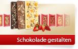 Drei verschiedene Schokoladen-Varianten